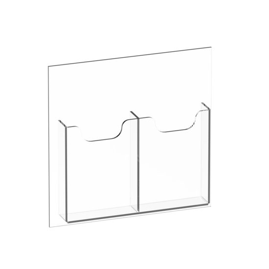 Hanging Signs IMS Brochure Display 2x DL Blank