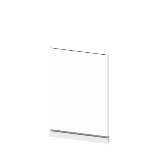 Wall Clip Sign A4 Blank